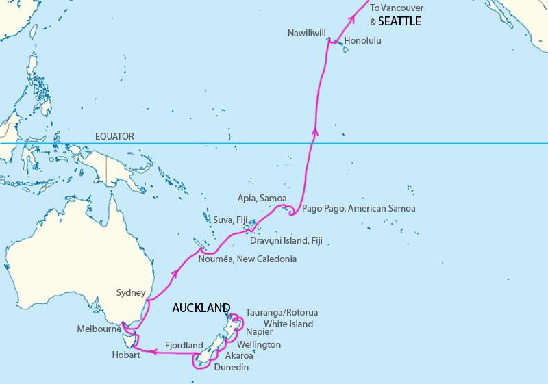 TransPacific Cruise 2013